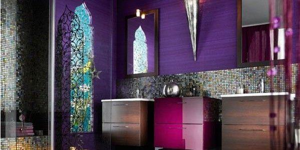 Luxury-Purple-Bathroom-Designs-With-Shower-Emphasizes-Elegance-Together-599x300.jpg 599×300 pixels