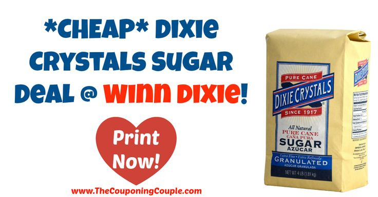 I love when a good sugar deal comes around! *CHEAP* Dixie Crystals Sugar Deal @ Winn Dixie!  Click the link below to get all of the details ► http://www.thecouponingcouple.com/cheap-dixie-crystals-sugar-deal-winn-dixie/ #Coupons #Couponing #CouponCommunity  Visit us at http://www.thecouponingcouple.com for more great posts!