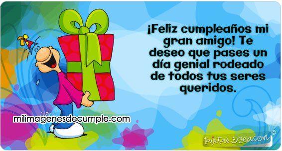 imagenes de cumpleaños para amigos jpg (566 u00d7304) Mi Tablero Pinterest