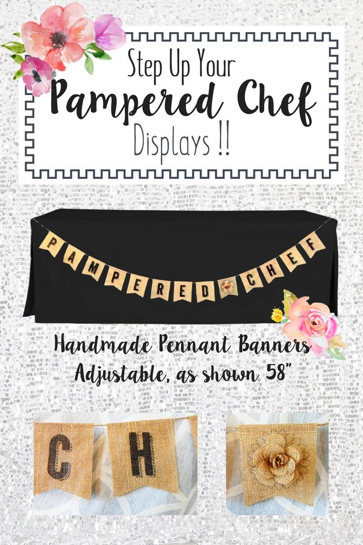 Handmade burlap pennant banners with 3D burlap flower - Gotta see these!