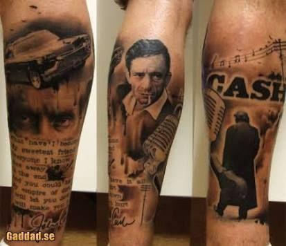 Image result for hurt johnny cash tattoos