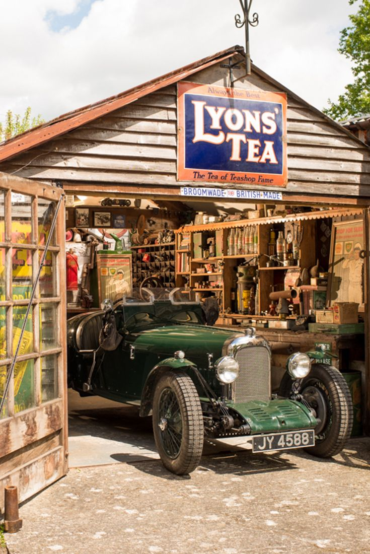 Cuprinol Shed of the Year | The Lagonda Shed – owned by Tim Kerridge. Tim's passion for old cars stems from his childhood where his father used to take him to school in his 1932 supercharged Lagonda. Vote for your favourite Historic shed here: http://spr.ly/64908Yeo6