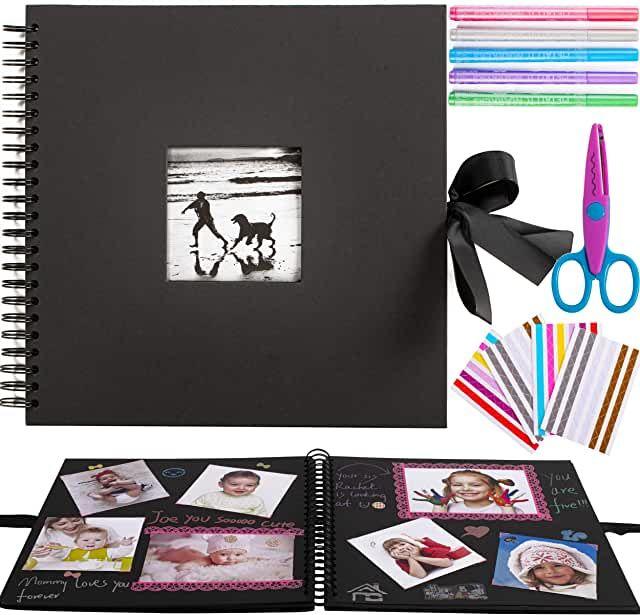 8x8,Green FaCraft Scrapbook Kit for Teenage Girls