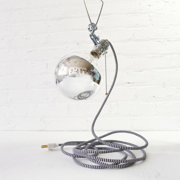 illuminating silver lamp: Silver Lamp