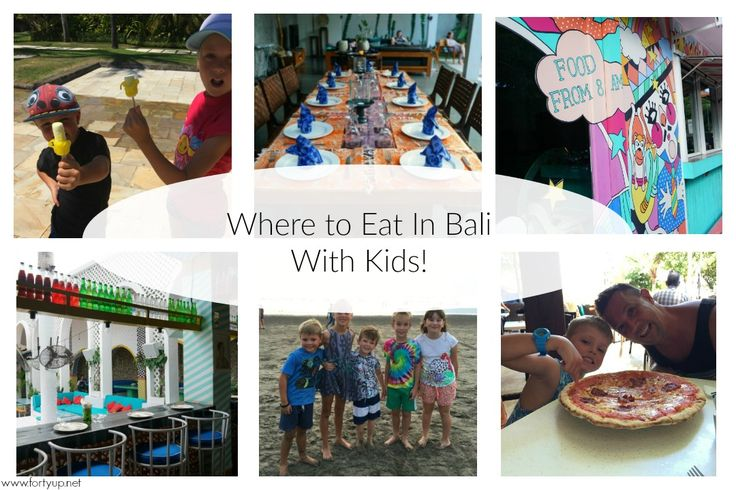 Eating In Bali With Kids