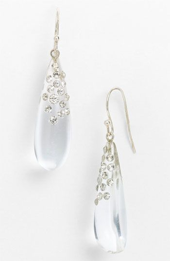 Alexis Bittar 'Lucite® - Dust' Long Raindrop Earrings (Nordstrom Exclusive) available at #Nordstrom