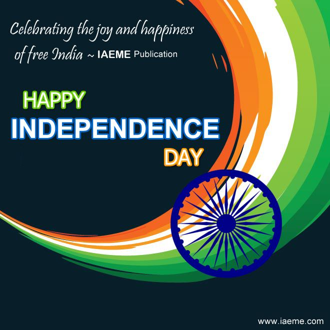 Celebrating the joy and happiness of free India