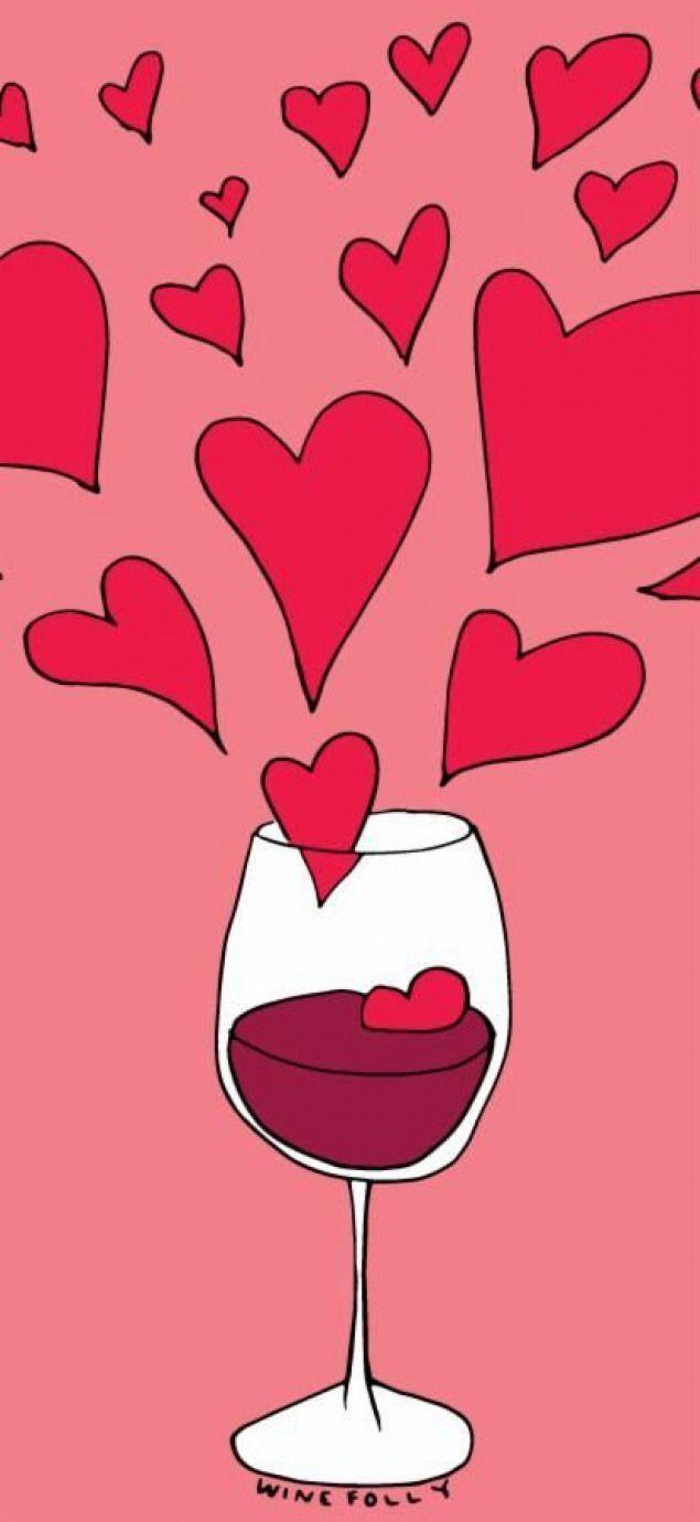 Fondos De Pantalla Foodies Para Tu Celular Food Pleasure Wine Wine Wallpaper Italian Wine Wine Wallpaper Valentines Day Wine