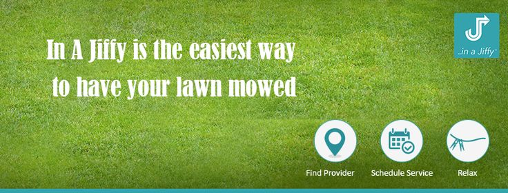 A beautiful lawn doesn't happen by itself.Get the best lawn mowing service by InAJiffy #services #inajiffy #lawnservice #best