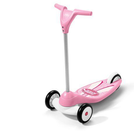 #WalmartCanada: $25.00 or 50% Off: Pink Radio Flyer My 1st Scooter $25 @ Walmart http://www.lavahotdeals.com/ca/cheap/pink-radio-flyer-1st-scooter-25-walmart/64910