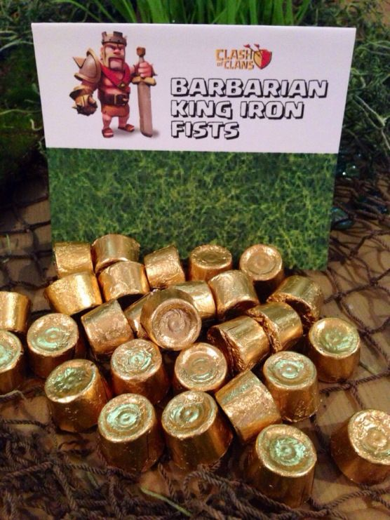 Clash of Clans Party BLOG! – Birthday Party Printables, Ideas, Favors, Tent Signs, Party Activites and More!! #clashofclans #clashofclansparty #clashofclansbirthday #clashofclanspartyideas