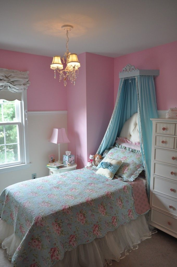 marvellous pink blue bedrooms jelanie | 26 best images about Pink and Blue room on Pinterest ...