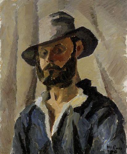 Collin, Marcus Self Portrait, 1920. Finnish Art Gallery