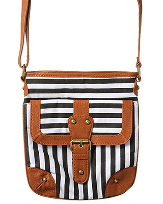 Cutest Nautical Purse Ever  $16.99 | rue21 : ENGINEER STRIPE CROSSBODY