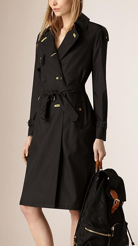 Black The Lightweight Trench Coat - Image 2