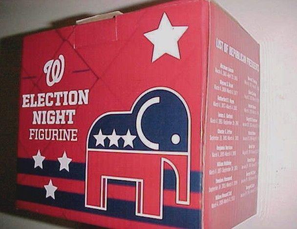 Washington National Election Night 2016 Republican Elephant Figurine New #Washington