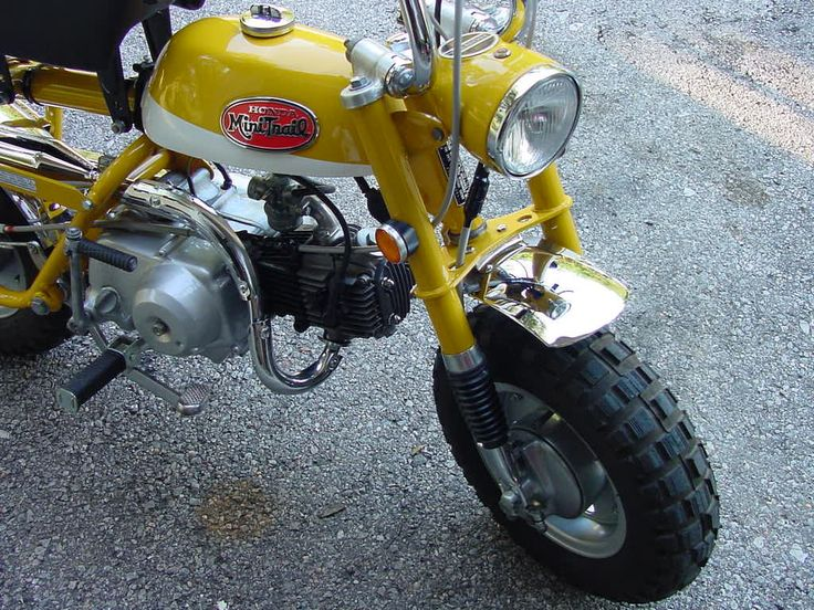 1971 Honda Z50a K2 Minitrail Minibike
