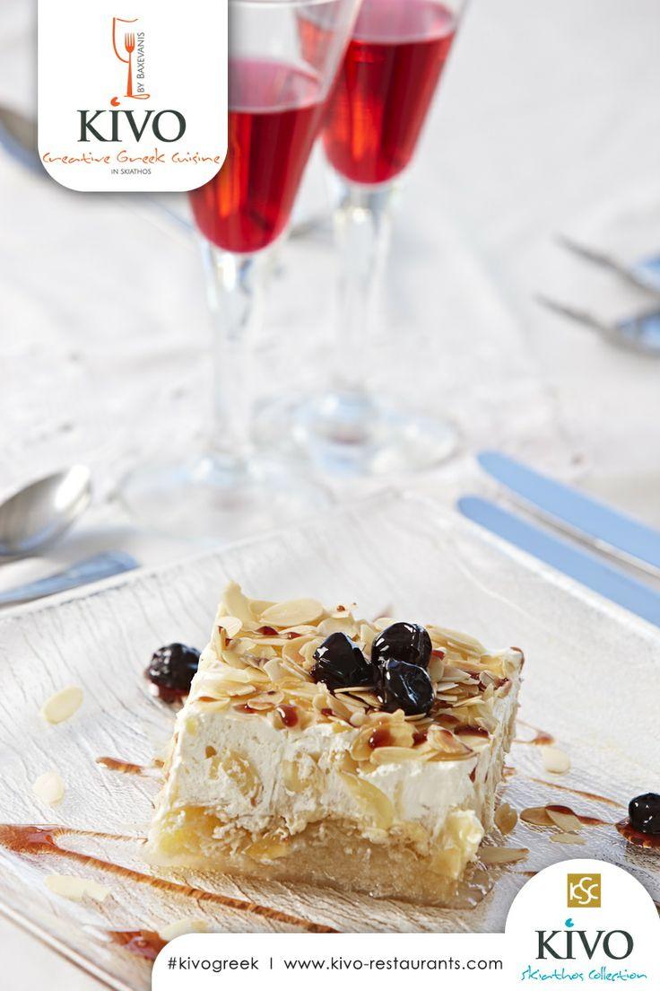 Have you tasted one of Kivo Creative Greek Cuisine's desserts? #kivo #kivorestaurants #kivogreek #baxevanis #kivohotel #greece #skiathos #summer #aegean #sun #greeksummer #vacation #hotel #restaurant #gastronomy #food #wine #sea http://kivo-restaurants.com/greek-cuisine/ http://www.kivohotel.com/