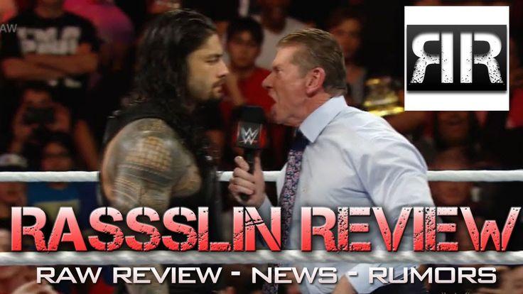Rassslin Review: WWE RAW 12/14/15, Wade Barrett, John Cena, Lucha Underg...