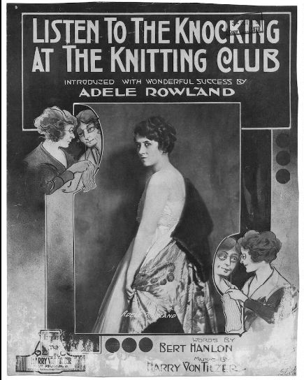 Knitting Club London : Best vintage songs about knitting images on pinterest