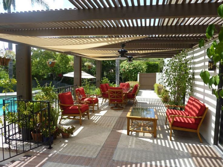 41 best images about simple outdoor patio ideas on pinterest for Simple pergola ideas