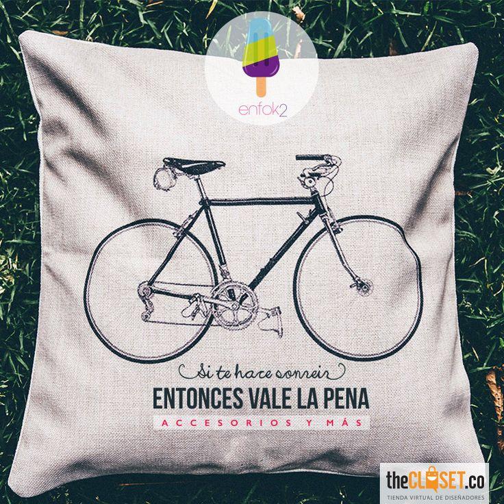 Vale la pena sonreír...encuentra artículos y accesorios de la marca Enfok2 en nuestra tienda online: http://thecloset.co/enfok2