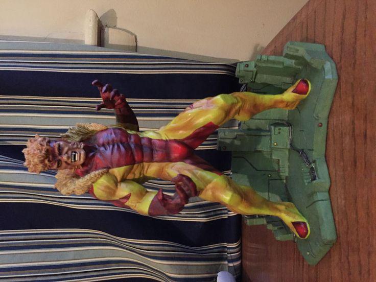 Jim Lee Sabretooth Statue