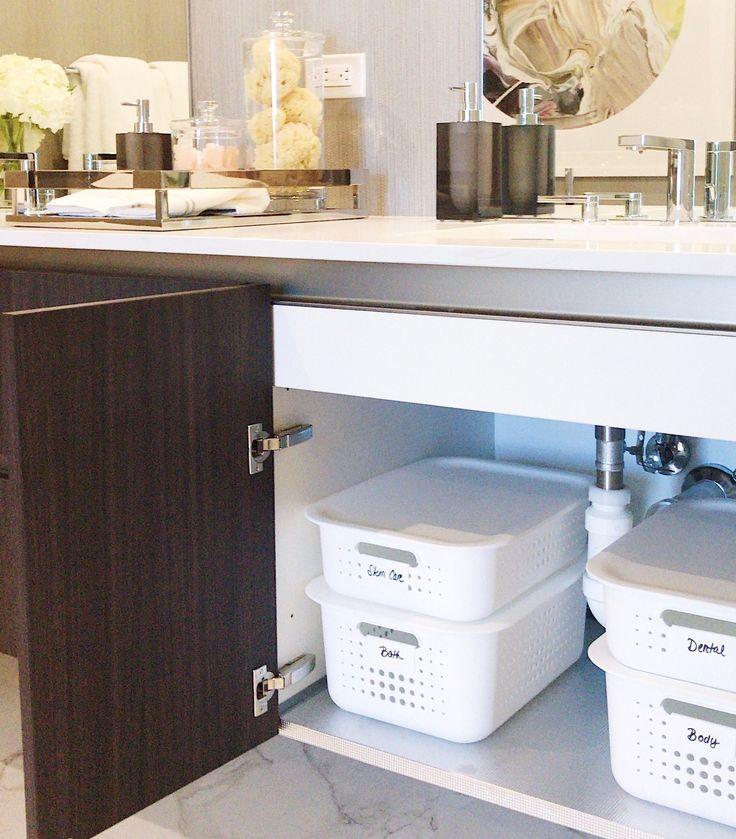59 Best Neat Bathrooms Images On Pinterest  Bathroom Organization Prepossessing Bathroom Remodel Stores 2018