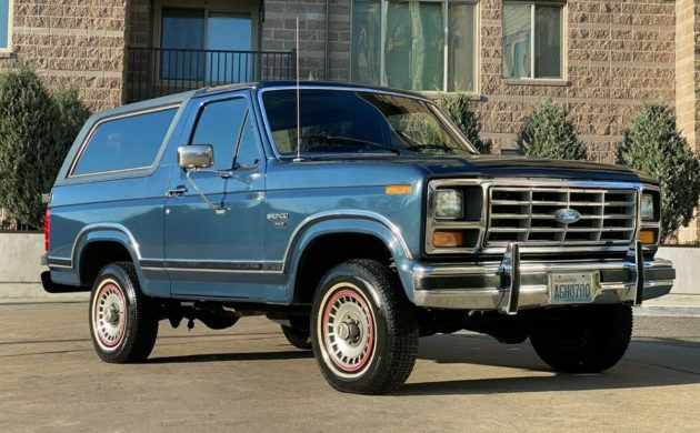 56k Mile Survivor 1986 Ford Bronco Xlt In 2020 Ford Bronco