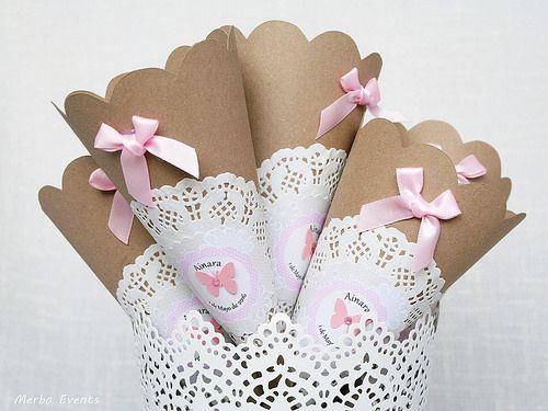 Decoración comunión niña Shabby chic merboevents.com