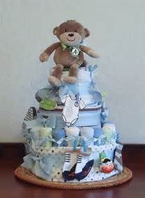Three Baby Shower Diaper Cakes Not to Eat!
