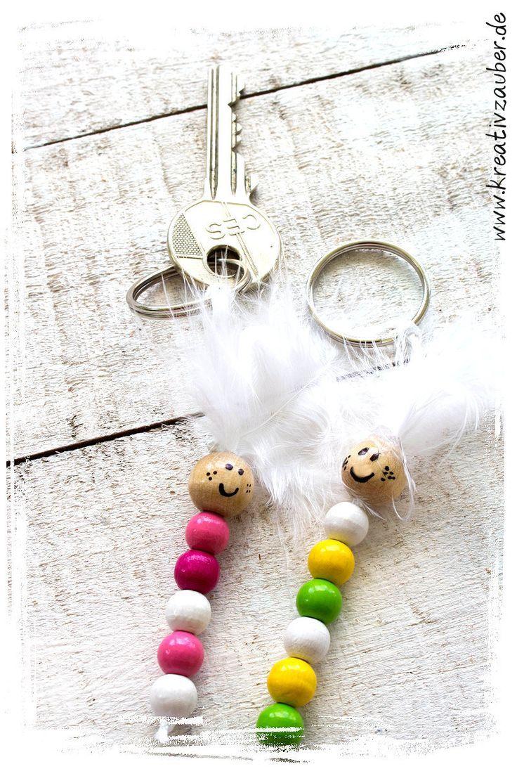 Schlüsselanhänger selber machen – Kreativzauber® ★ Basteln ★ Schreiben ★ Schenken