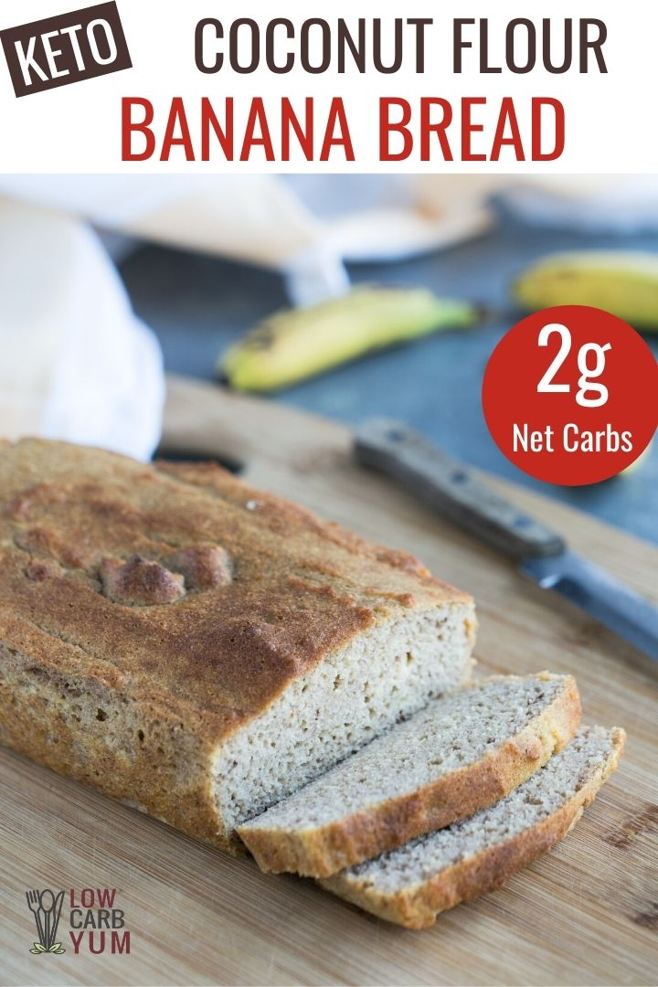 Coconut Flour Banana Bread In 2020 Coconut Flour Banana Bread Flours Banana Bread Coconut Flour