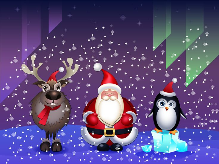 Santa's Buddies on Behance