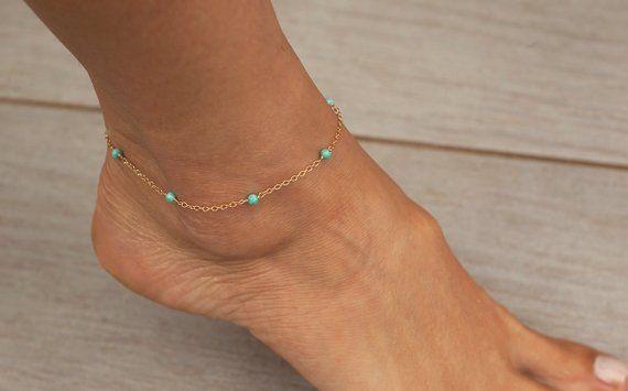3 mm Gold /& Silver Link Pied 1 pcs Chaîne Bracelet Bijoux cheville Largeur