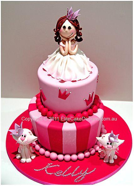 432 best PartyBirthdayCake images on Pinterest Fondant cakes