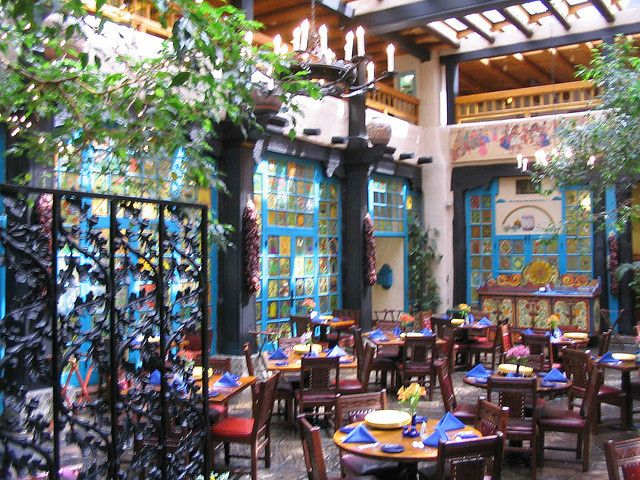 Santa Fe, New Mexico - La Fonda...a favorite!  I love this hotel, it is the best and very old .an absolute must if u go there .
