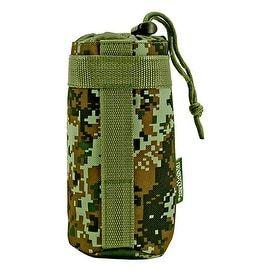 Tactical Water Bottle Holder - Green Digital Camo