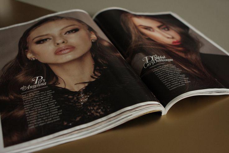layout / etitions / magazine / fashion / beauty EMMA magazine redesign © Mikina Dimunova