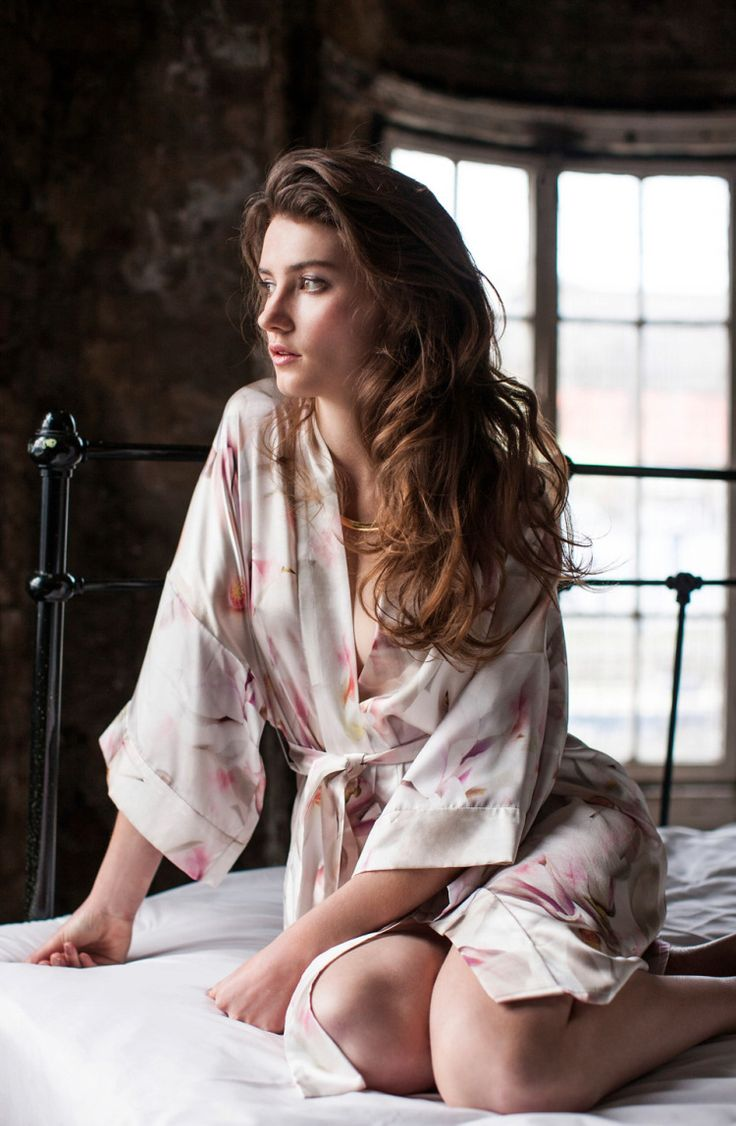 The luxury silk 'Botanic' collection from Violet and Wren