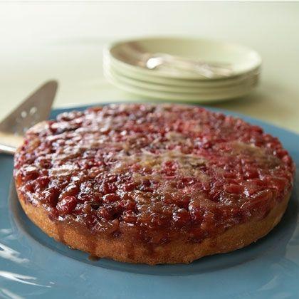 Cranberry Upside-Down Cake: Yankees Cranberries, Upsidedown Cakes, Desserts Ideas, Cranberries Upsidedown, Cakes Recipes, Cranberries Upside Down, Upside Down Cakes, Thanksgiving Desserts, Cake Recipes