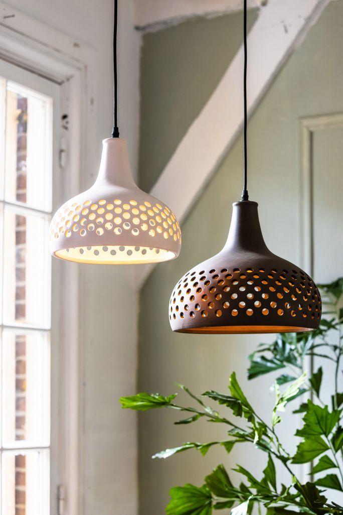Hanglamp 27x24 Cm Mercurius Keramiek Zacht Wit In 2020 Hanglamp Keramiek Eettafel Verlichting