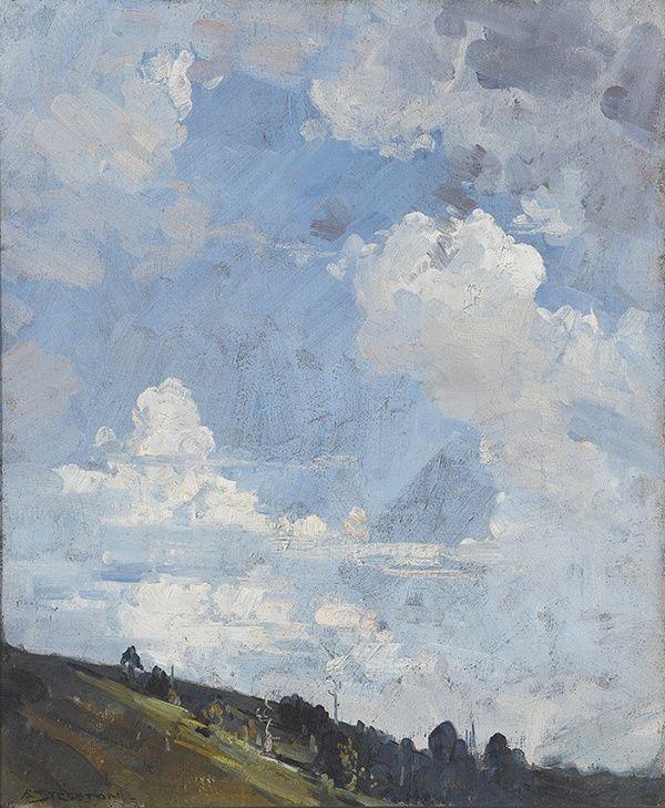 Sky at Olinda, ca. 1936 - Arthur Streeton (Australian, 1867 - 1943)