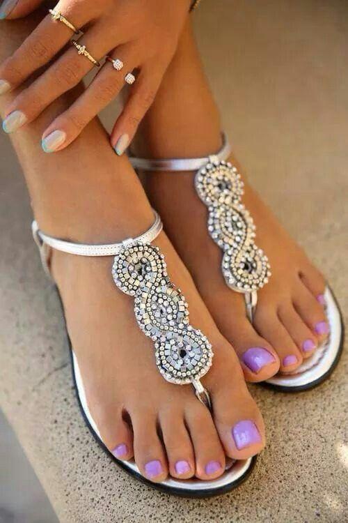 Vernis magnifique et chaussures superbes !!