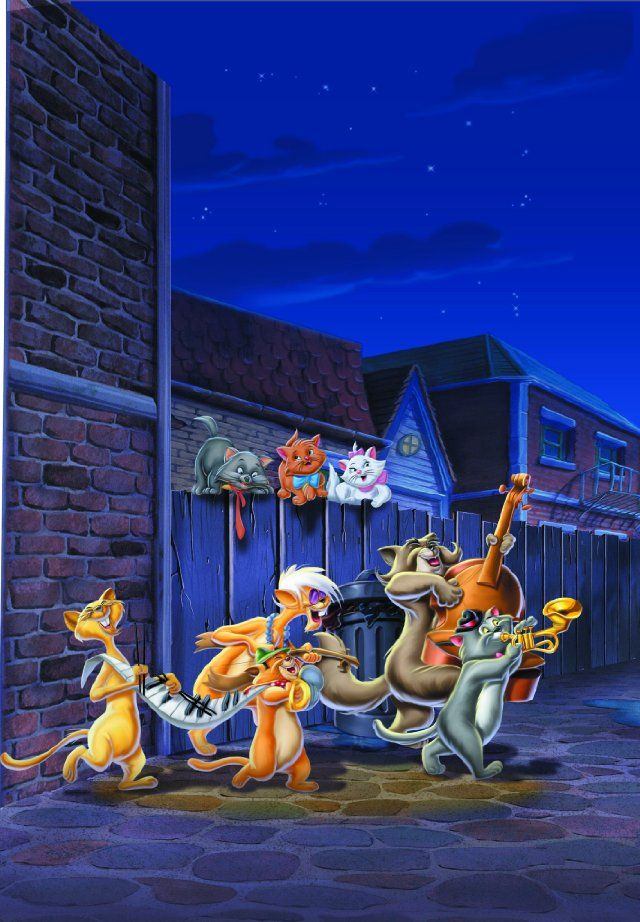*THE ALLEY CATS The Aristocat's, 1970 Aristocats