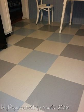 17 best images about i 39 ll paint that on pinterest for Painted vinyl floor ideas