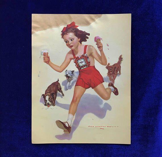 1930's Boston Terrier, Westie & Cocker Spaniel