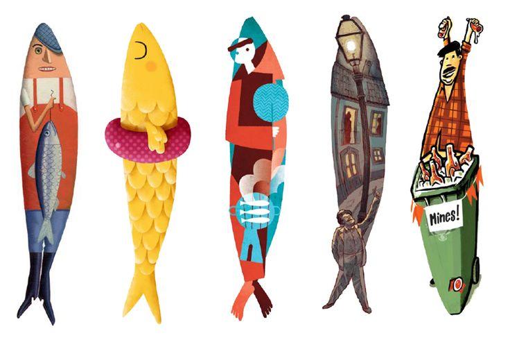 Já foram escolhidas as sardinhas vencedoras que vão decorar as ruas da cidade de Lisboa durante os santos populares.