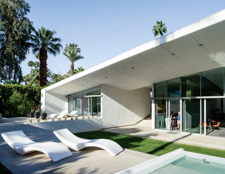 An Energy Efficient Hybrid Prefab Keeps Cool in the Palm Springs Desert    Photo 5 of 12260 best architecture images on Pinterest   Architecture  Facades  . Caribbean Homes Designs. Home Design Ideas