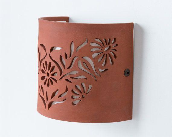 FREE SHIPPING Flowers Ceramic wall lighting fixture